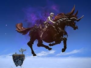 FF14 ウィッチ活躍!妖馬空を飛ぶ!?