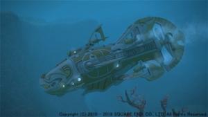 シーラカンス級潜水艦制作素材一覧(4.4)【FF14】