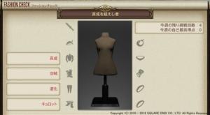 ファッションチェック「真成を超えし者」金評価装備・100点評価装備【FF14】