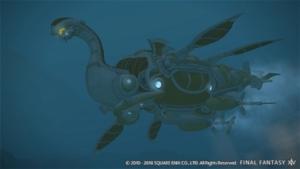シルドラ級潜水艦パーツ制作素材(パッチ4.5)【FF14】